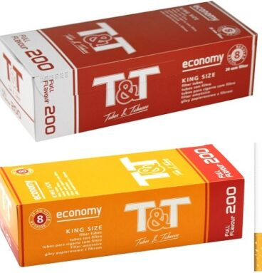 Гильзы с фильтром T&T Economy Full Flavour Regular Long filter (200 шт.)